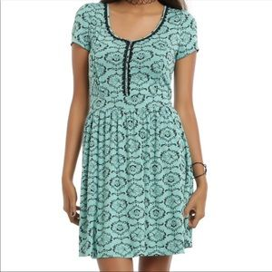 Mint Green Nightmare Before Christmas Dress